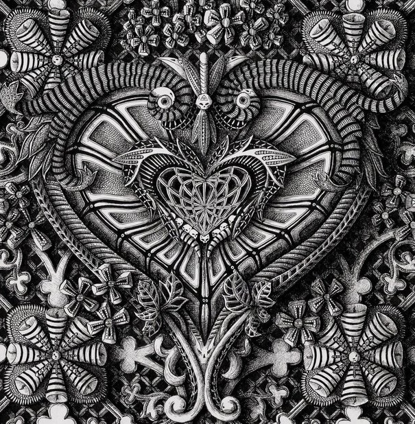 Incredibly Detailed Ink Drawings