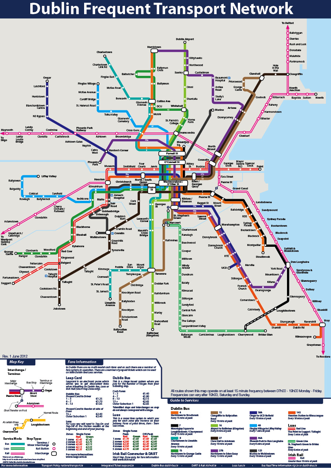 Dublin Subway Map