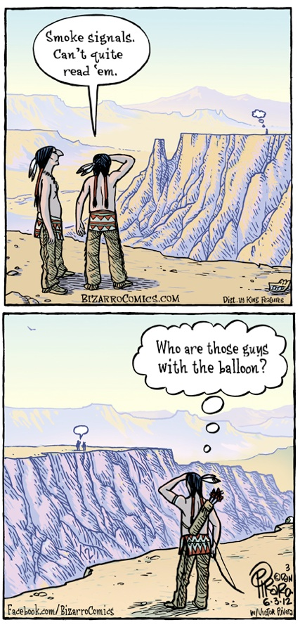 smoke signals ie bizarrocomics