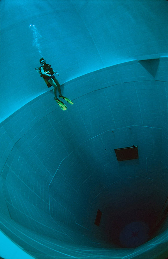 The World S Deepest Man Made Swimming Pool