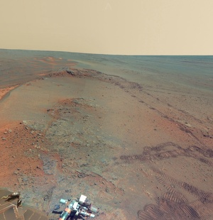 Mars Surface Panorama - Pics about space