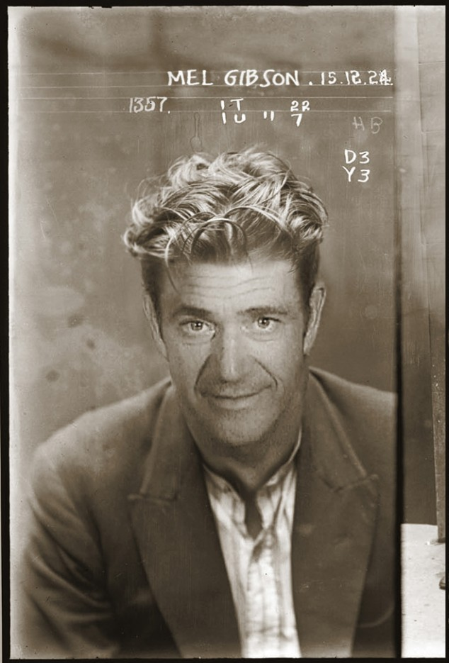 Modern Celebrities in 1920s Mugshots | Broadsheet ie