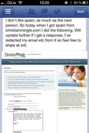Christianmingle.com Telephone Number