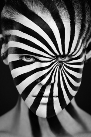 Photographer alexander khokhlov in collaboration with make up artist valeriya kutsan who was denied any colour but black and white khokhlov sez