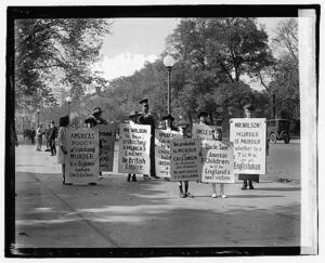 Irish Picket The White House, 1920 | Broadsheet.ie 1920 White House