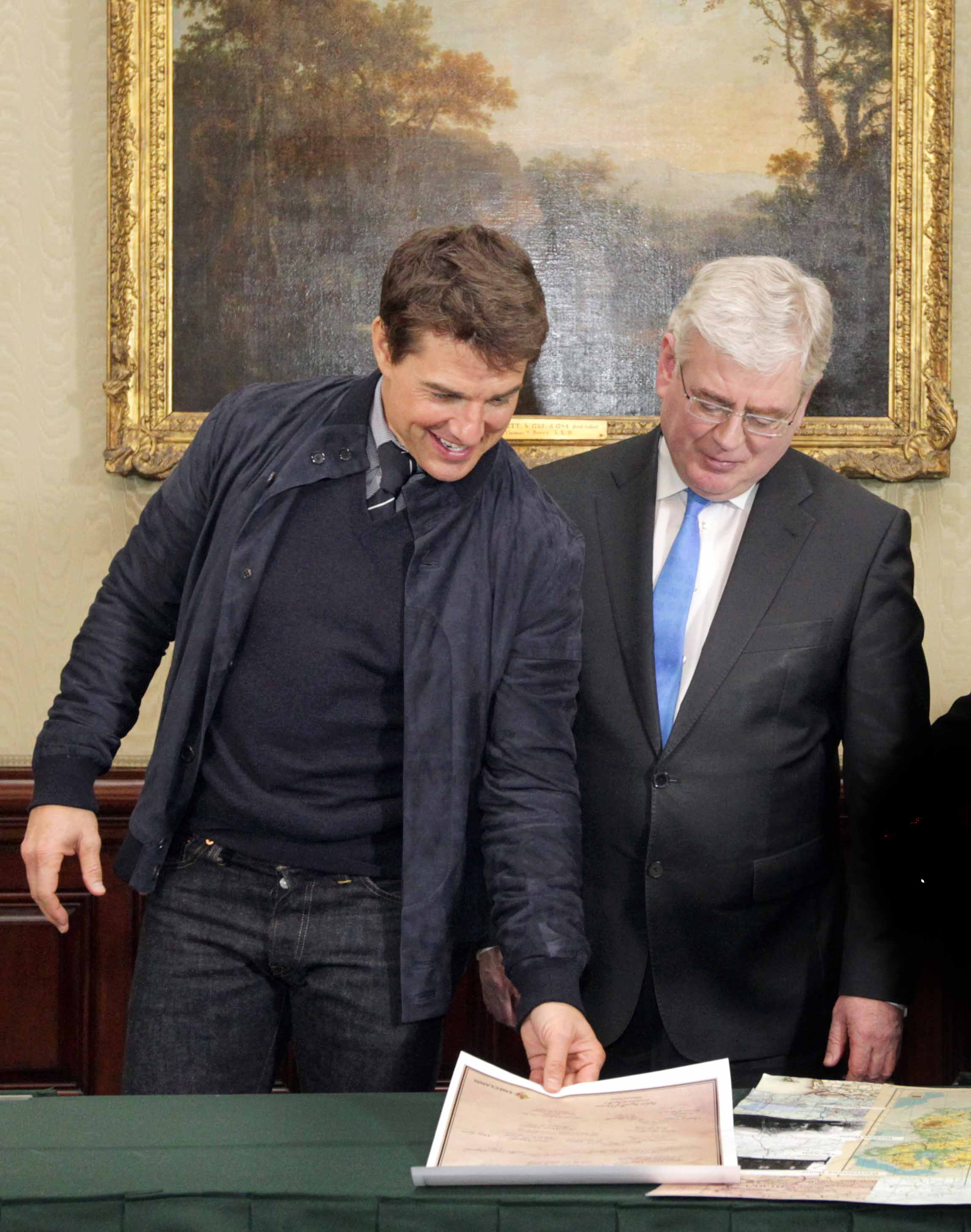3/4/2013 Tom Cruise Cetificate of Iri