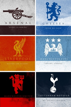 small_english football clubs as game of throses sigils