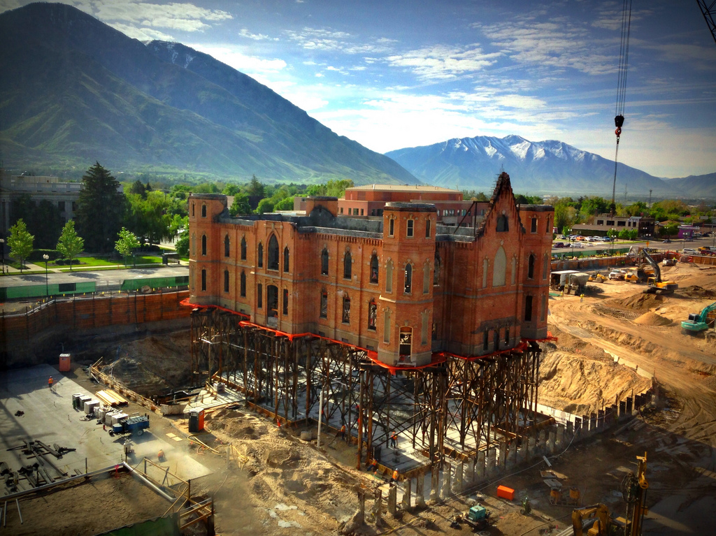 The Provo Tabernacle It Hasn T Gone Away You Know
