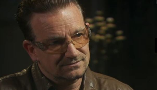 On RTÉ's The Meaning of Life With Gay Byrne last night, Bono spoke to