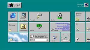 Windows 98 With Tiles | Broadsheet.ie