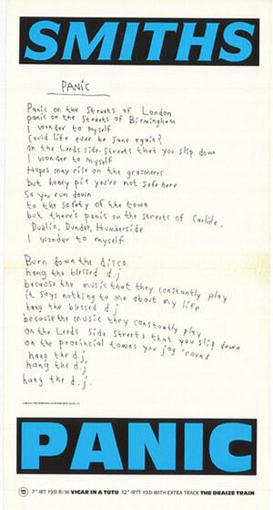 """Panic """"B"""" (July 1986)"""
