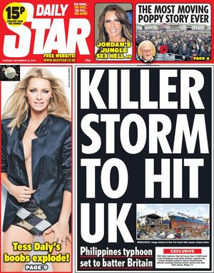 De Tuesday Papers | Broadsheet.ie Daily Star