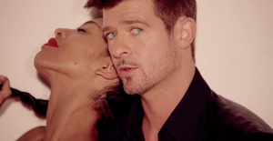 Blurred Lines Robin Thicke Cover Art Blurred-lines. robin thicke's