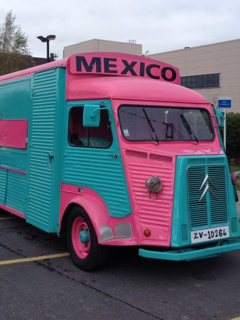 A New Mexican Takeaway In Nifty Food Truck On 13 Chancery Street Dublin Beside The Four Courts Luas Stop