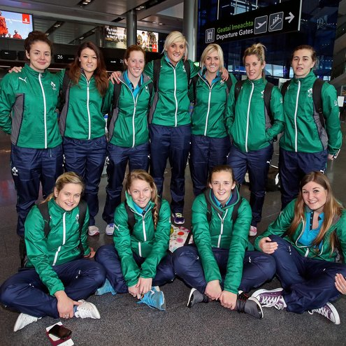Ireland Women's 7's Rugby Team 26/11/2013