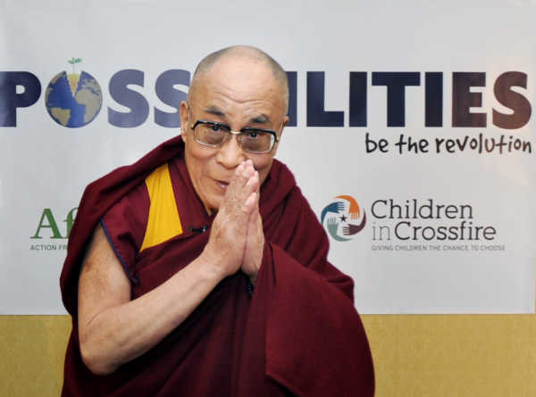13/4/2011. Dalai Lama of Tibet Visits Ireland