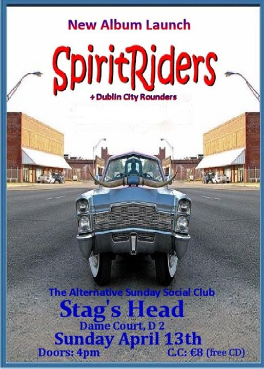 SpiritRiders ASSC Album Launch Poster