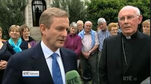Image result for enda kenny and pope
