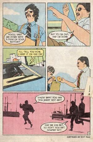 Саботаж 4 комиксы