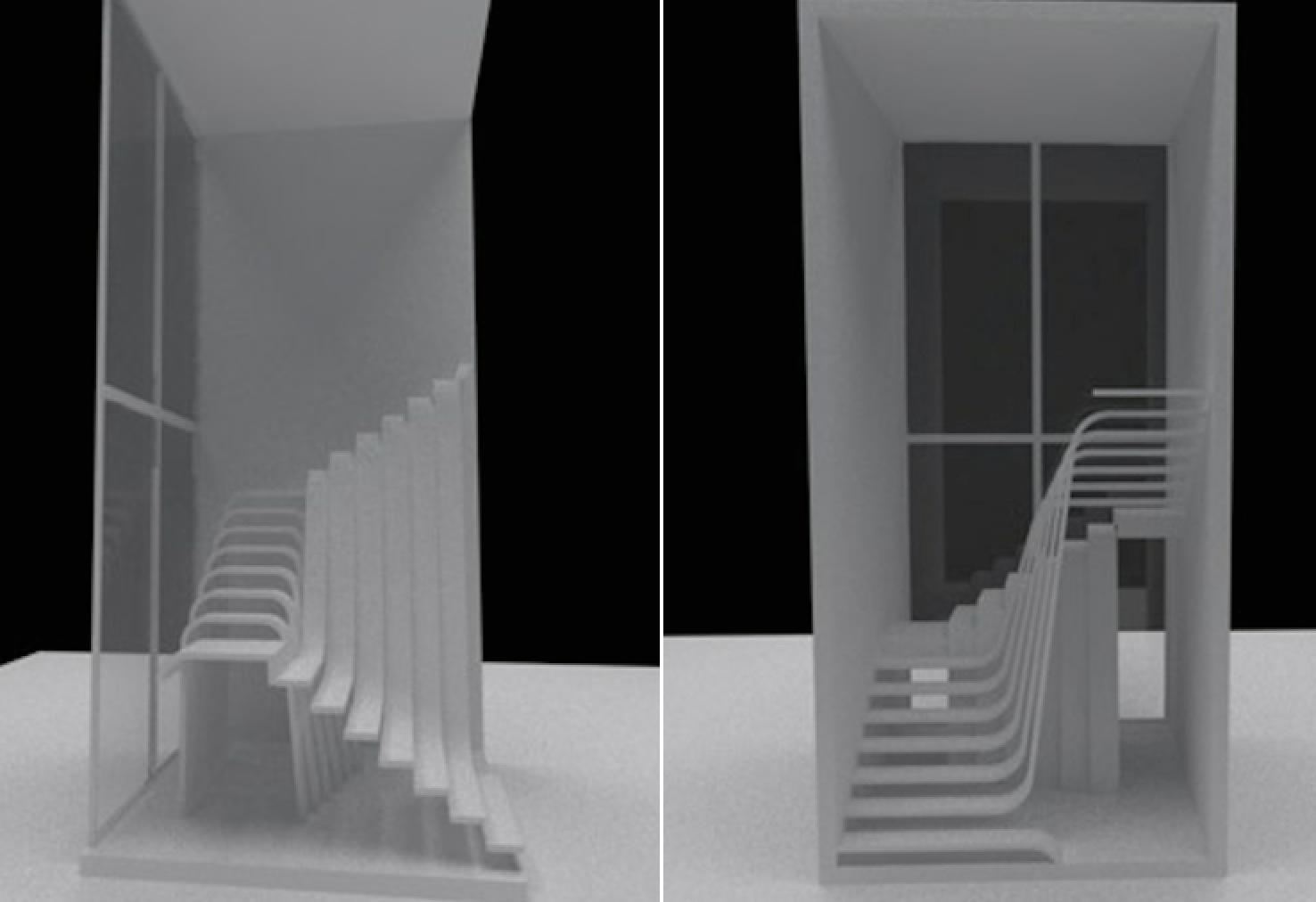 Stair porn