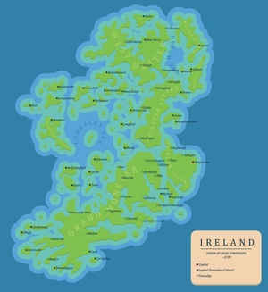 Map Of Ireland 2050.Here S What Ireland Would Look Like If The Sea Level Rose