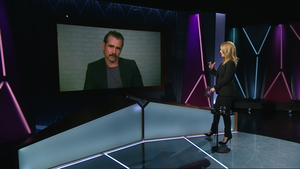RTE Claire Byrne Live Interview with Colin Farrell jpg
