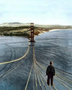 golden gate bridge 1933