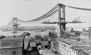 manhattan bridge 1909