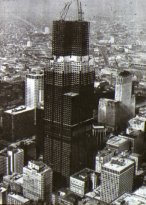 sears tower 1970