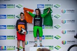 Under 21 womens podium.