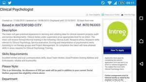 Clinical Psychology aim courses perth