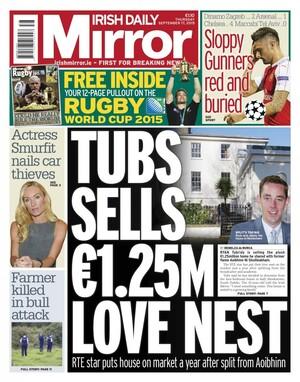 Sligo today news for sligo county today 39 s front pages for Sunday mirror