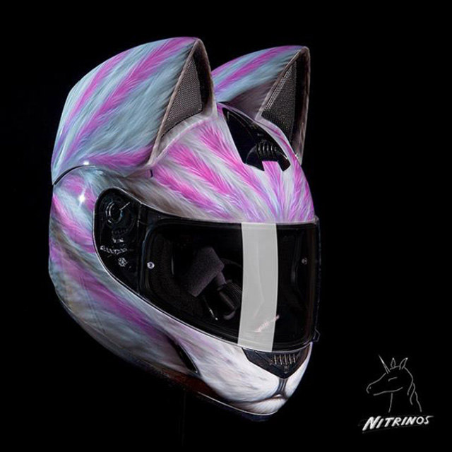 Cat-Head-Motorcycle-Helmets-3