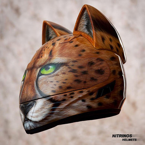 Cat-Head-Motorcycle-Helmets-4
