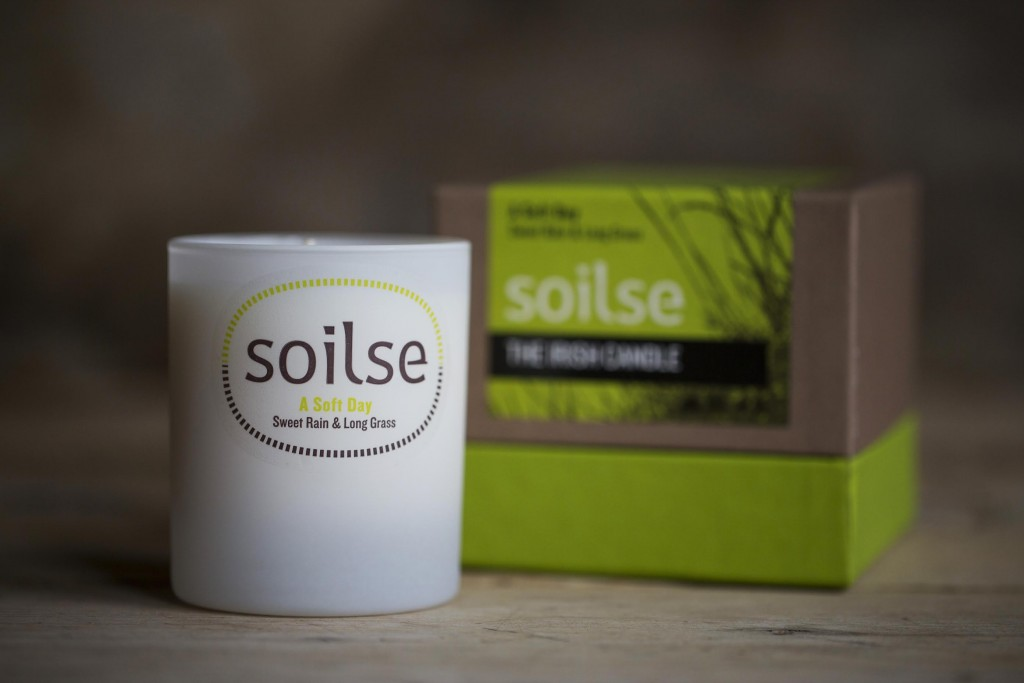 A Soft Day Candle by Soilse