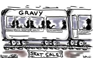 Political Moose Gravy Train