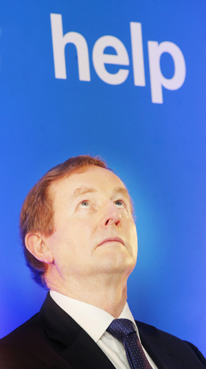 15/2/2017. Taoiseach Enda Kenny, TD at Indeed EMEA Headquarters Dublin 2 making an annoucement of new jobs at Indeed expanding its Dublin EMEA headquarters to allow it to capitalise on continuing rapid international growth> Photo: RollingNews.ie