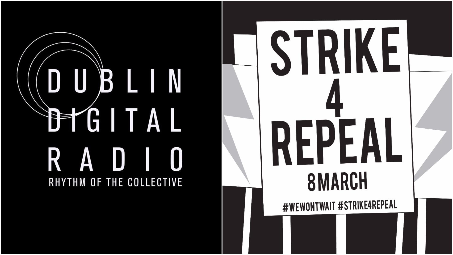 Dudlin Digital Radio & Strike 4 Repeal logos
