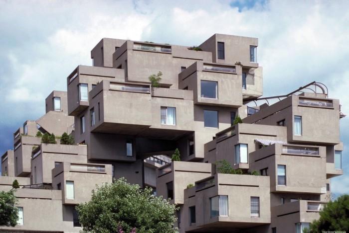 Habitat '67, Montreal, Canada.