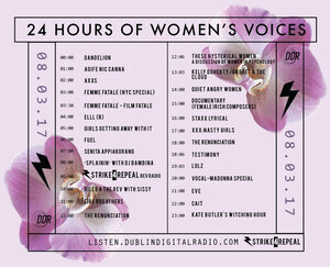 DDR_24HoursOfWomensVoices_Schedule
