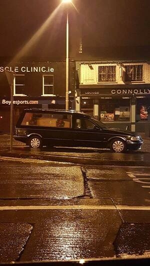 Hearse Outside | Broadsheet ie