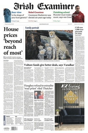 De Friday Papers | Broadsheet ie