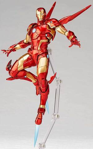 Your Iron Man Armour Model 37 Action Figure Has Arrived
