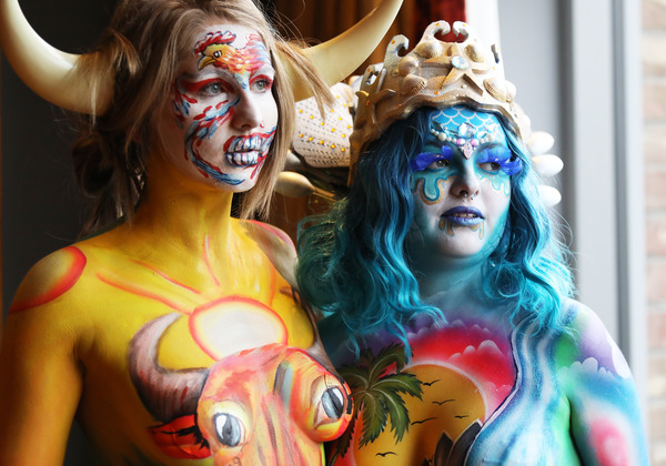 Body Paint Festival Broadsheet Ie