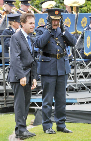 18/05/2013. Garda Memorial Day. Minister for Justi