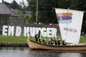 17/6/2013 G8 Summit. The coalition 'Enough Food fo