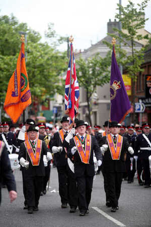 Orange Order Parades in Belfast