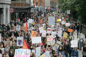 29/9/2012. Pro Choice for Abortion Protests