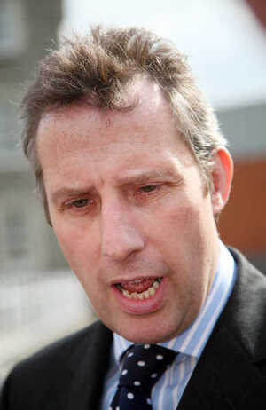 19/4/2007. Ian Paisley Junior in Dublin