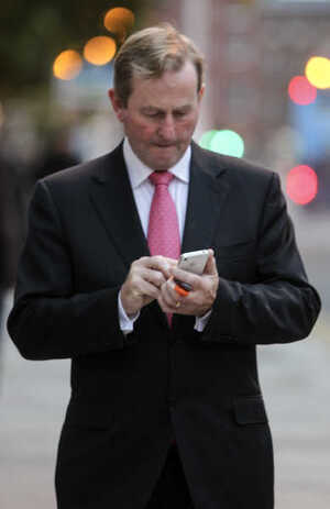 11/10/2013. Cabinet Meetings. Pictured An Taoiseac